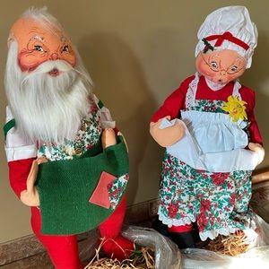 Original Annalee Christmas dolls